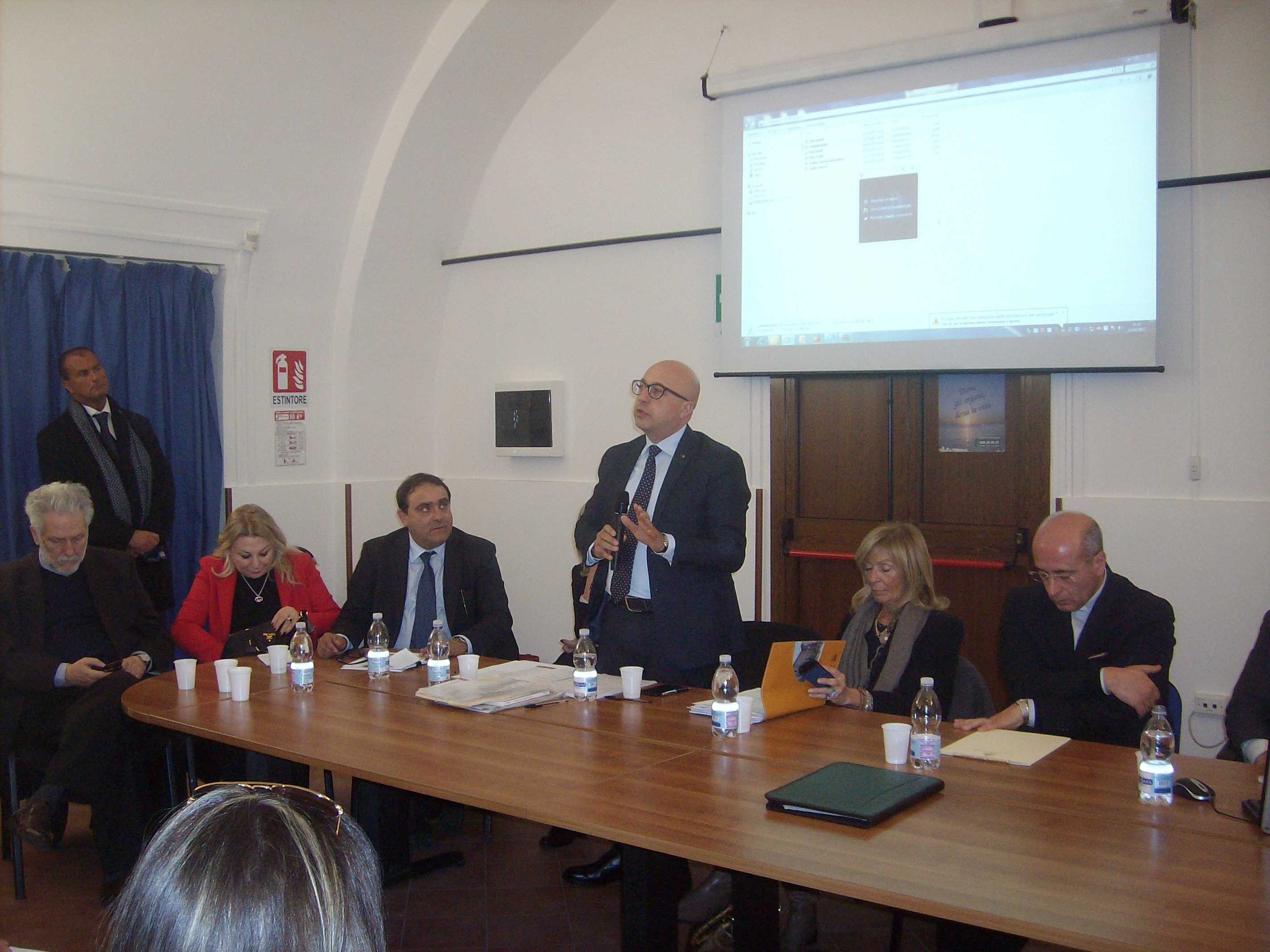 Giugliano in Campania 11 3 2017 – Sala convegni dell ASL Napoli 2 Nord sita in Piazza Annunziata